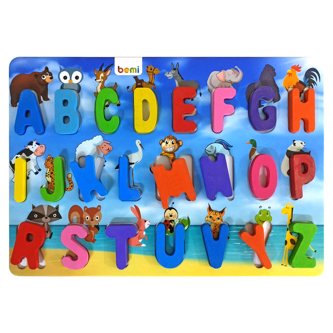 Letter Puzzle - Printed