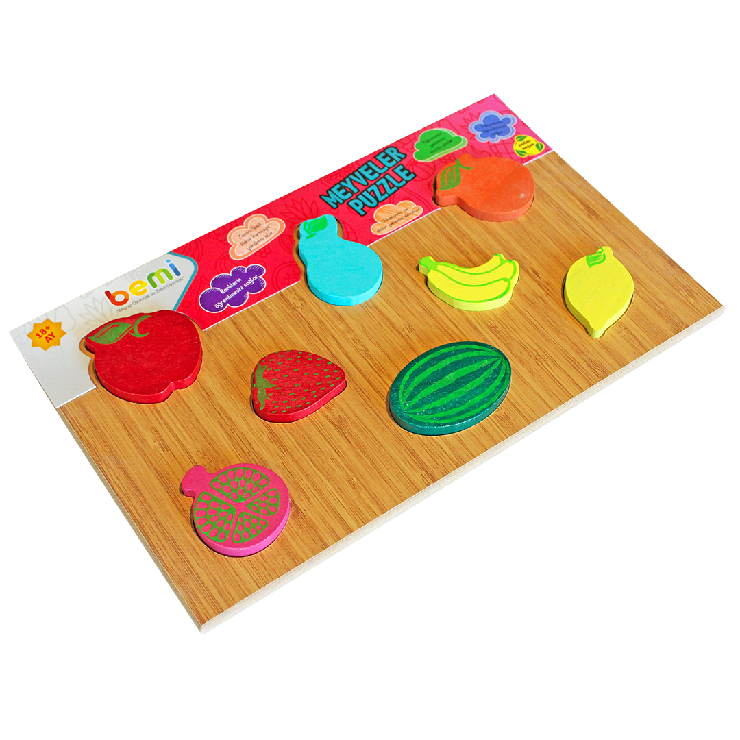 Wooden Fruits Puzzle